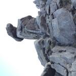 登山 ゆるぎ岩