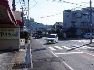 赤川(石山方面から)